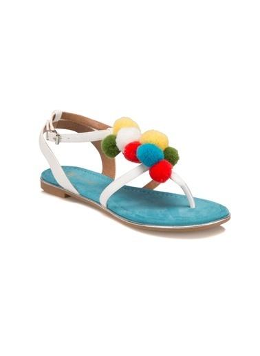 Butigo Sandalet Beyaz